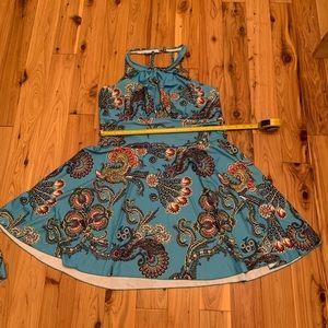Halter swim dress size Approximately 18 new
